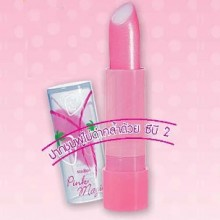 mistine pink magic lip plus cb 2 - stawberry