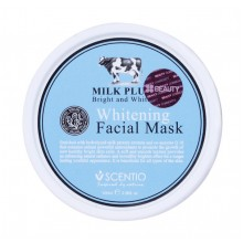 Scentio Milk Plus Whitening Facial Mask